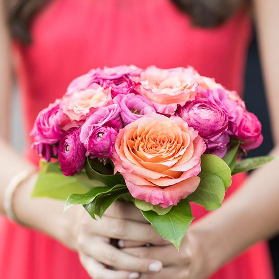 wedding flowers new jersey - pink bouquet